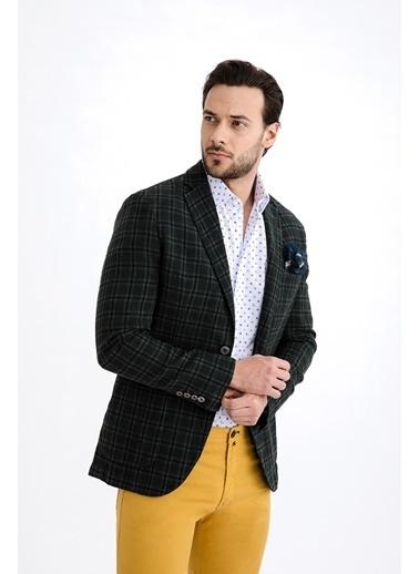 Kiğılı Ceket Yeşil